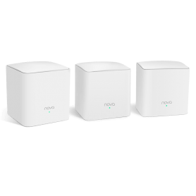 NOVA MW5S TENDA WHOLE HOME MESH WIFI SYSTEM (3-PACK) Tenda