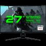 "Monitor & Projector MONITOR 27"" LED GAMEMAX GMX27C144 BLACK"