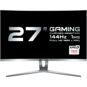 "MONITOR LCD 27"" GAMEMAX GMX27C144 WHITE"