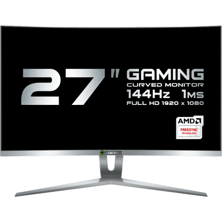"MONITOR LCD 27"" GAMEMAX GMX27C144 WHITE Gamemax"