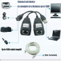 Computer Accessories CABLE USB EXT LAN CONVERTER UP TO 30M BOARD-X