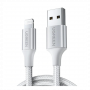 CABLE USB 2.0A TO LIGHTNING 1.5M NICKEL PLATING ALUMINUM 60162 UGREEN