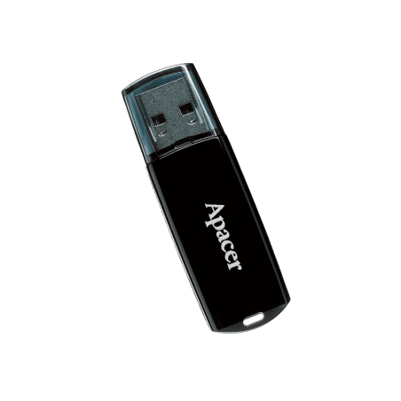 FLASH MEMORY 16GB APACER AH322 BLACK Apacer