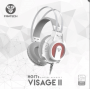 FANTECH HG17S VISAGE 2 RGB GAMING HEADSET WHITE SPACE EDITION